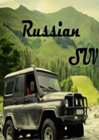 Races Russian SUV